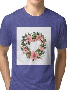 wreath Tri-blend T-Shirt