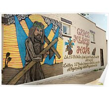 Religious Wall Mural Poster