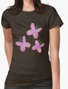 Painted Fluttershy Womens Fitted T-Shirt