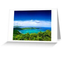Post Card from Hawaii  Greeting Card