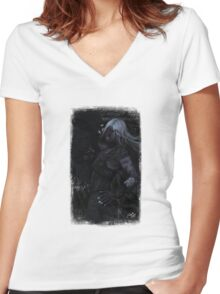 Gigeresque Women's Fitted V-Neck T-Shirt