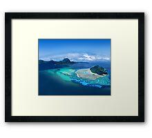 Exotic Post Card Framed Print