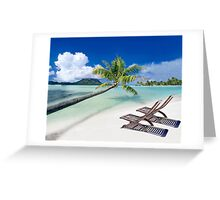 Relax at the Beach  Greeting Card