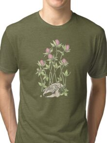 Red Clover All Over Tri-blend T-Shirt