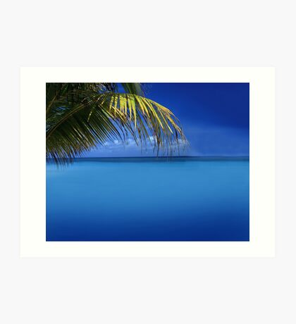 Exotic Holiday Destination  Art Print
