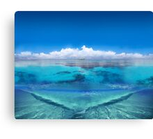 Post Card from Australia Canvas Print