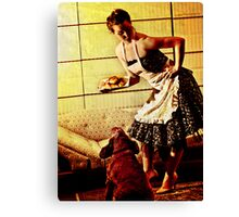 Kirsty - 50s House Wife Canvas Print