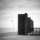 Flag Pillars Rack by David Piszczek