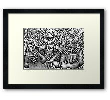 Cereal Killers Framed Print