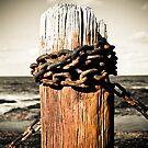 Rusty pole by Jesper Høgsdal
