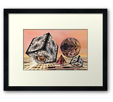 Mathematical fun Framed Print