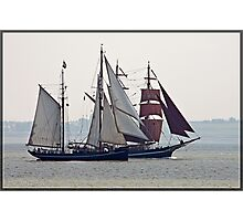 Tall Ships Passing (I) Photographic Print
