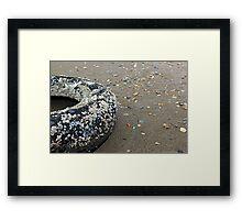 The Tire Framed Print