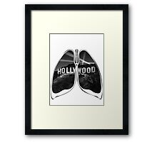 Lungs - HollyWood Framed Print