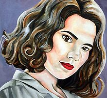 Agent Peggy Carter by Persis Johnson