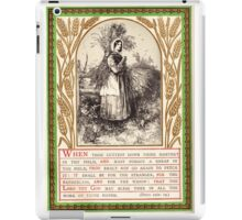Deuteronomy 24  iPad Case/Skin