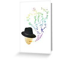 Smoking Bubbles Greeting Card