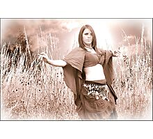 Belly Dancer Photographic Print