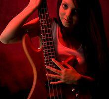 Da Bass in the Hands of da Devil (cheeky!) by Mark Elshout