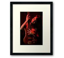Da Bass in the Hands of da Devil (cheeky!) #2 Framed Print