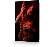 Da Bass in the Hands of da Devil (cheeky!) #2 Greeting Card