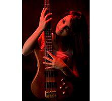 Da Bass in the Hands of da Devil (cheeky!) #2 Photographic Print