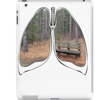 Lungs - National Park Bench iPad Case/Skin