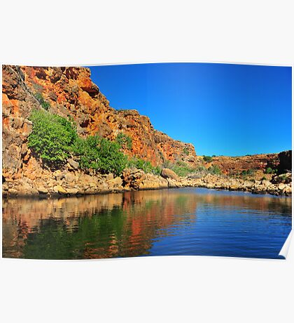 Yardie Creek Ningaloo National Park WA Poster