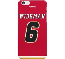Calgary Flames Dennis Wideman Jersey Back Phone Case iPhone Case/Skin