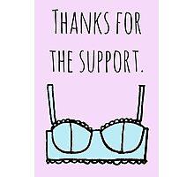 Support bra Photographic Print