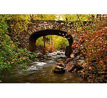 Stone Bridge Crossing Photographic Print