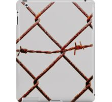 Chain Link & Barbed Wire iPad Case/Skin