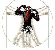 Vitruvian Spiderman by FeijooS