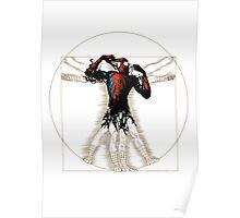 Vitruvian Spiderman Poster