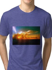 Florida Sunset Tri-blend T-Shirt