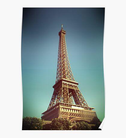 Tour Eiffel III Poster