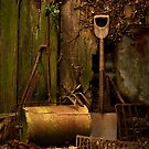 Old Garden Tools by Gazart