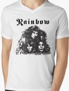 Ritchie Blackmore Rainbow Mens V-Neck T-Shirt