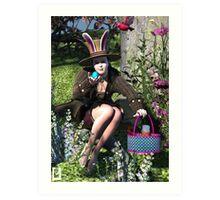 Hoppy Easter 2014 Art Print