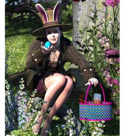 Hoppy Easter 2014 Sticker