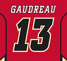 Calgary Flames Johnny Gaudreau Jersey Back Phone Case by Russ Jericho