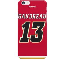 Calgary Flames Johnny Gaudreau Jersey Back Phone Case iPhone Case/Skin