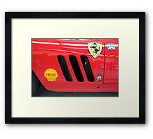 Ferrari GTO Framed Print