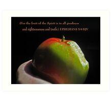 Fruit of the spirit Art Print