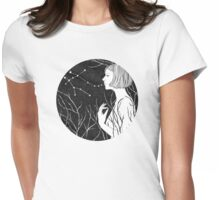 Under stars Womens Fitted T-Shirt