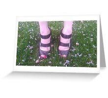 Petals: beneath the Selfie Greeting Card