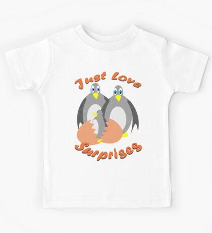 Just Love Surprises Kids Tee
