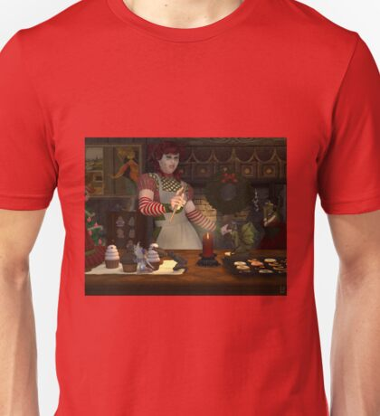 December, Seasons of the Witch: Kitchen Witchery Unisex T-Shirt