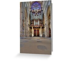 Church of St. Ouen - The Aristide Cavaillé Coll Organ Greeting Card
