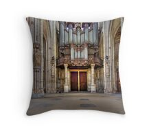Church of St. Ouen - The Aristide Cavaillé Coll Organ Throw Pillow